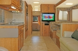 Twin Slidout Motorhome Interior
